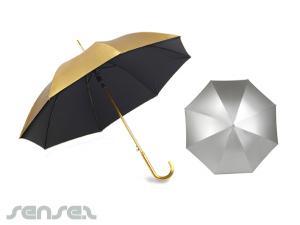 Going for Gold & Silber Regenschirme