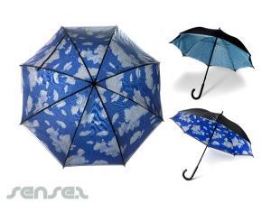 Cloudy Umbrellas
