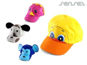 Kids Animal Caps