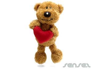 Teddybär-Herzen