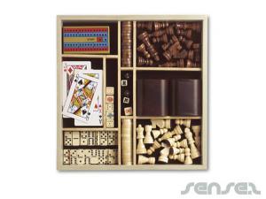 Wooden games sets