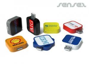 Square Twist USB Stick (1GB)