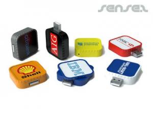 Square Twist USB Stick (2GB)