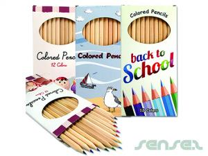 Large Colour Pencil Boxes (full colour printed)
