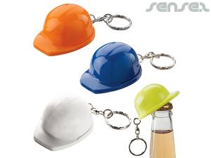 Hard Hat Bottle Opener Keyrings