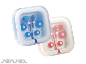 Earphones in Cases
