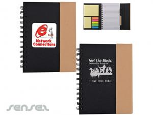 Recyclable Notebooks Stationery Set