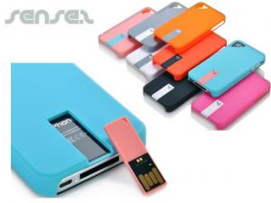 iPhone Case with  USB Stick (1 GB)