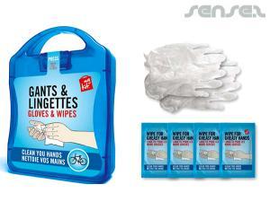 Handschuhe & Wipes Erste-Hilfe-Kits