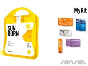 Sonnenbrand Erste Hilfe-Sets