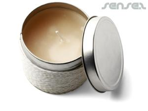 Fragrance Eco Tin Candles