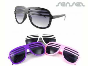 Fun Aviator Shutter Sunglasses