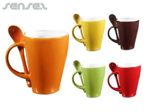 Curved Coffee Mugs