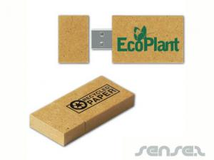 Recycled Paper USB Sticks (2GB)