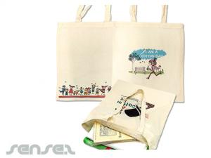 Full Colour Printed Calico Bags