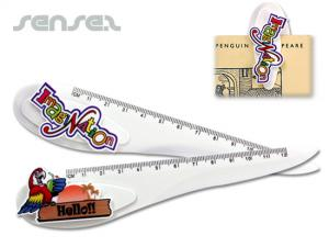 Deluxe 3 in 1 Ruler Letter Openers