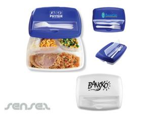 Triple Lunch Containers