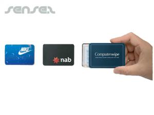Business Card Tins With Towel