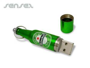 Bierflasche geformte USB-Sticks (1GB)