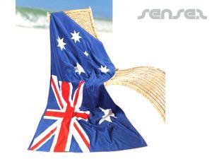 Aussie Flag Beach Towel