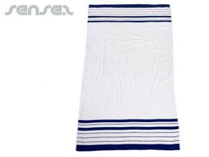 Country Striped Beach Towels