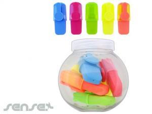 Highlighter Marker Set Jars