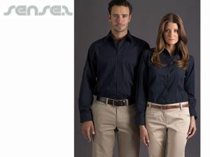 Long Sleeve Stretch Business Shirts
