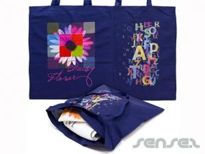 Full Colour Printed Coloured Cotton Bags