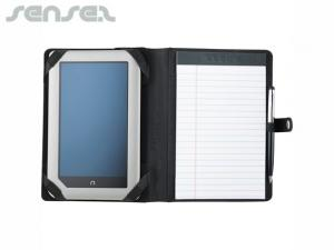 Pedra Tablet Compendiums with Snap Closure
