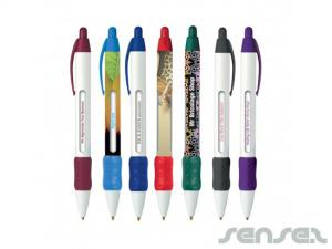 Allover Wide Body Messsenger Pen