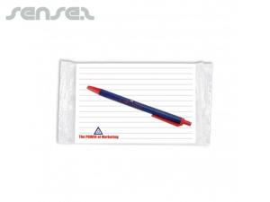 Sticky Notepads with Pen (Large)