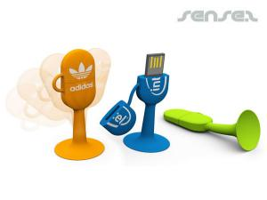 Suction Flippy USB Flash Drive (4GB)