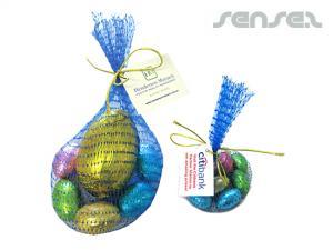 Easter Eggs in Mesh Bags (55g)