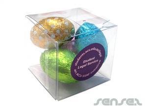 Mini Clear Box with 4 Eggs (30g)