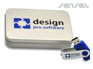 Rectangular USB Tins