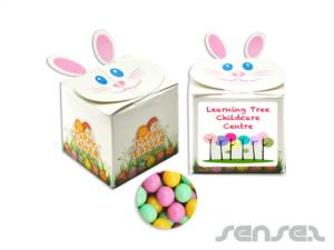 Easter Rabbit Boxes filled with Lollies