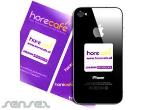 Microfiber Mobile Stickers (30x30mm)