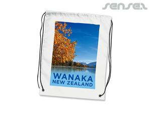 Full Colour Printed Drawstring Bags