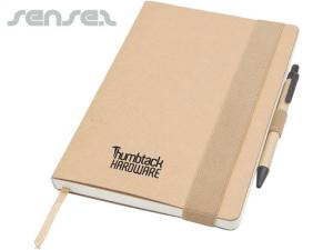 Recycled Notebook with Pen Set (A5)