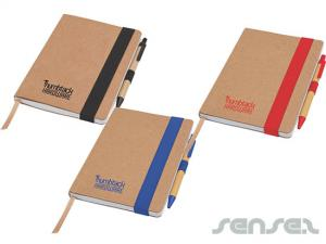 Recycled Notebook with Pen Sets