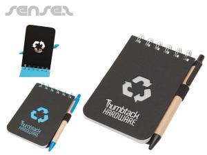 Recycled Pocket Notebooks with Pen