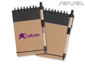 A6 Enviro Notepads with Pen
