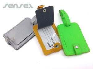 Artificial Leather Luggage Tags (debossed)