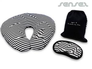Comfy Travelsets Pillow & Eye Masks