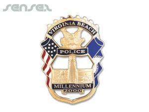 Custom Sheriff Badges