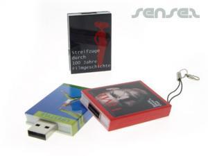 Buchen geformte USB-Sticks (1GB)