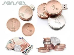 Coin USB Sticks (1GB)