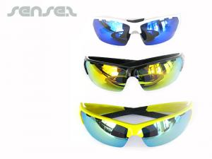 Mirror Wraparound Sunglasses