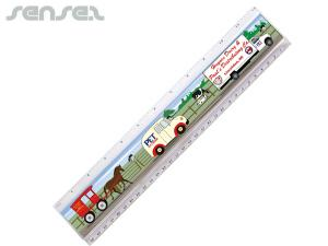 Full colour Insert Rulers