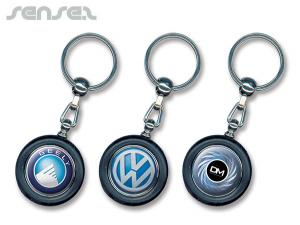 Epoxy Wheel Keychains